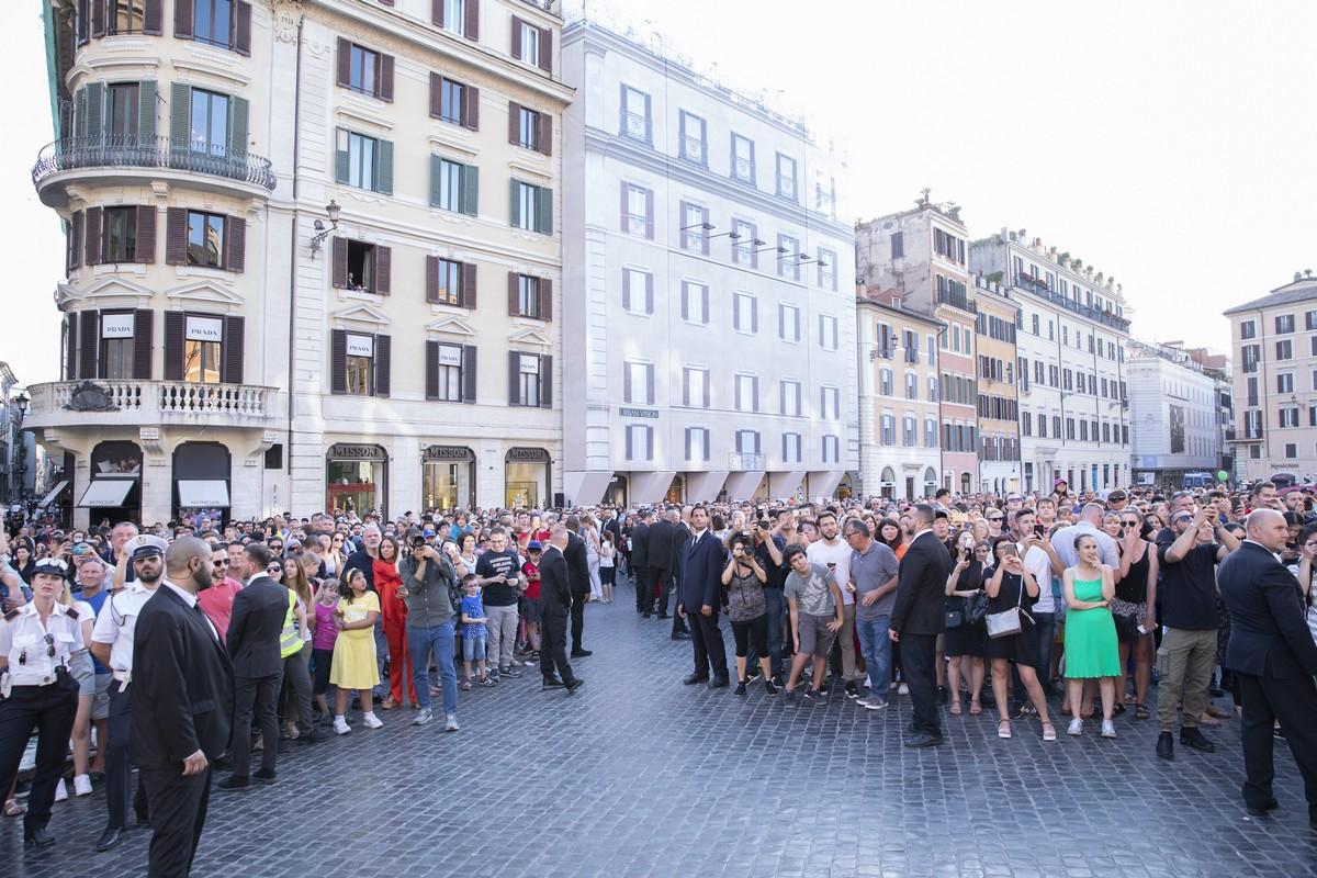 Hublot Roma Piazza di Spagna