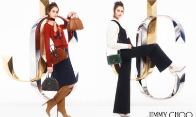 Jimmy Choo campagna autunno inverno 2019: la musa Kaia Gerber e le borse Varenne