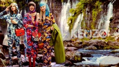 Kenzo campagna autunno inverno 2019: i collage artistici di David LaChapelle