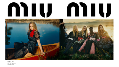 "Miu Miu campagna autunno inverno 2019: il ""Paws Up"" ranch"
