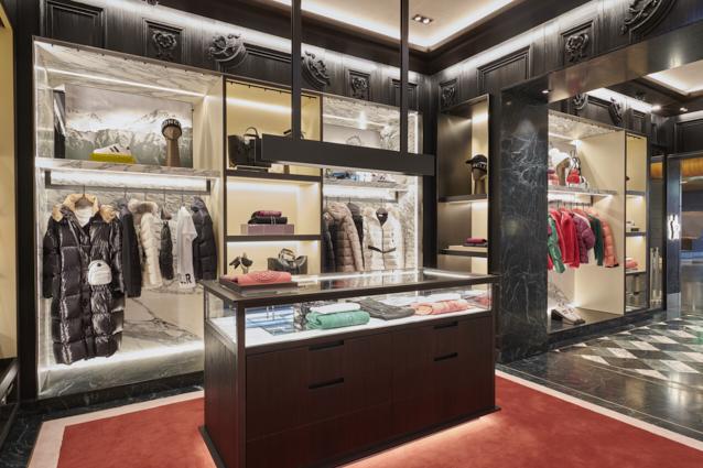 Moncler boutique Zurigo