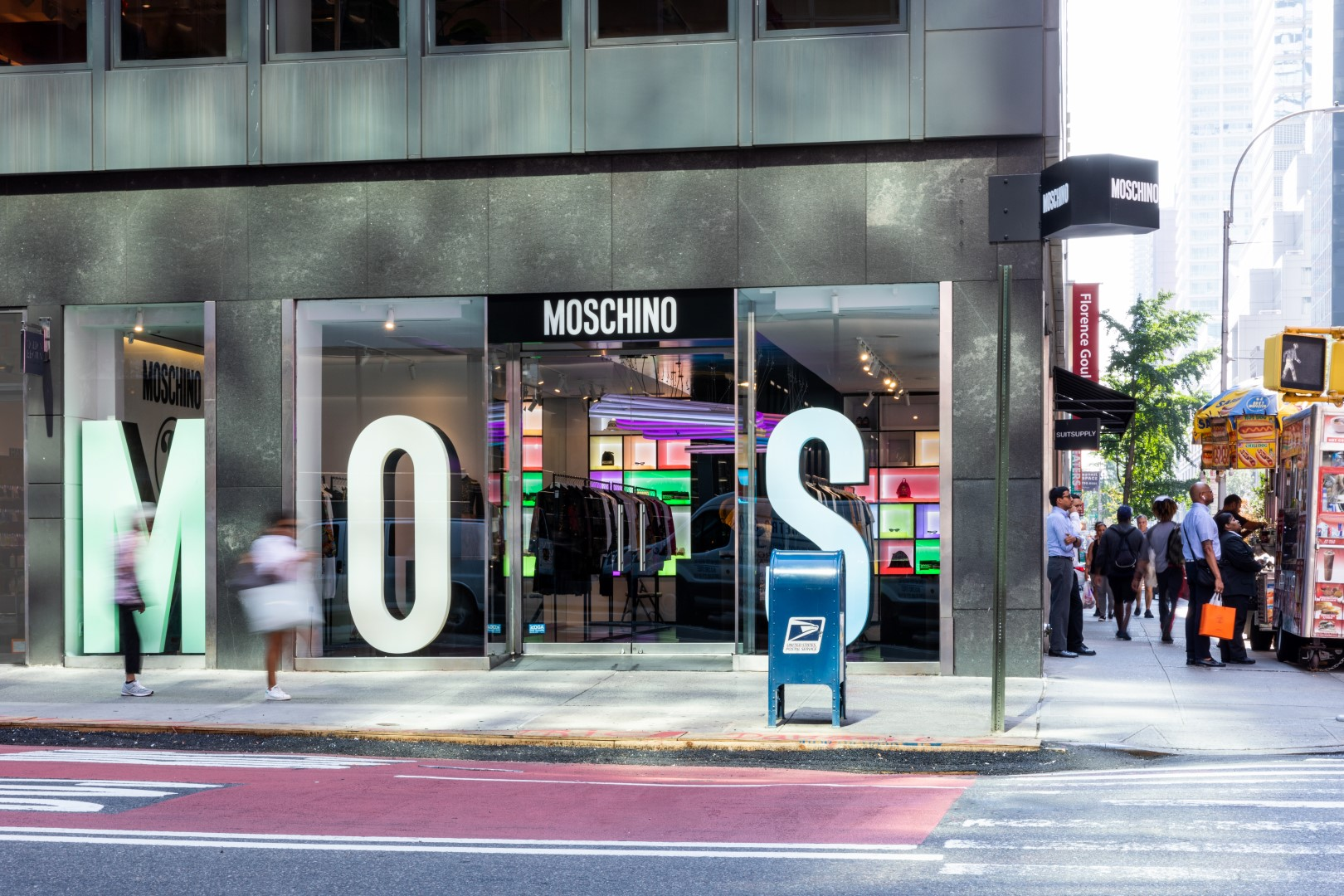 Moschino Madison Avenue New York