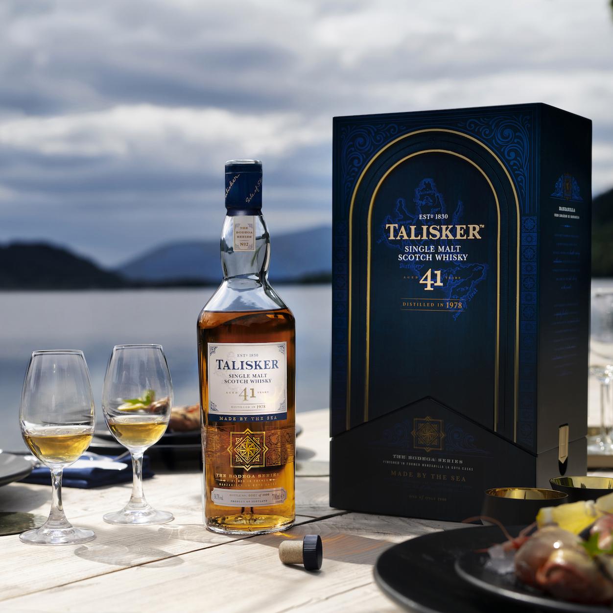Talisker Whisky Bodega 41 anni