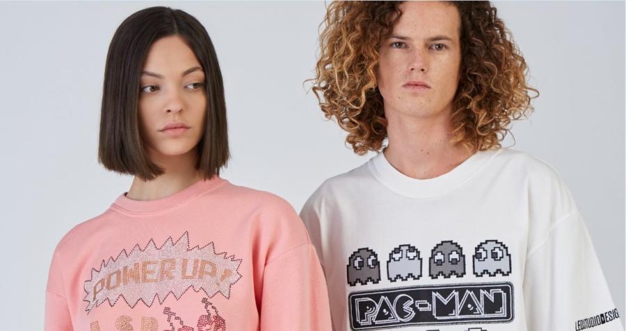 Tendenze moda primavera estate 2020: la collezione ispirata a PacMan di LeoStudioDesign