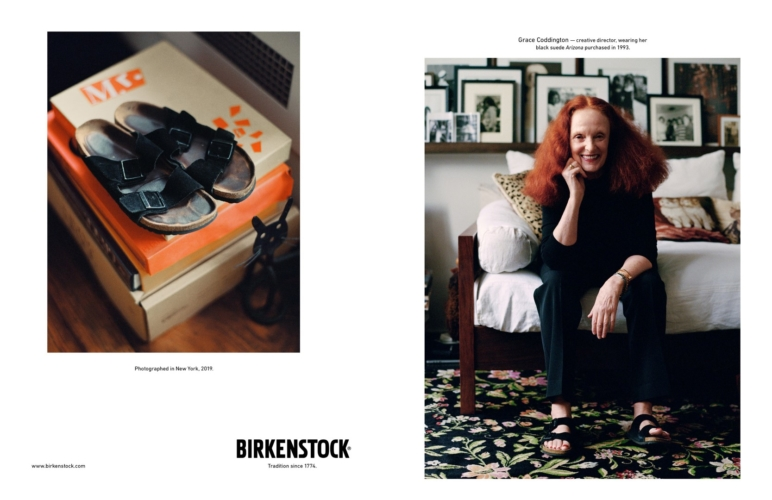 Birkenstock campagna Personality 2019: Grace Coddington e Jack Davison