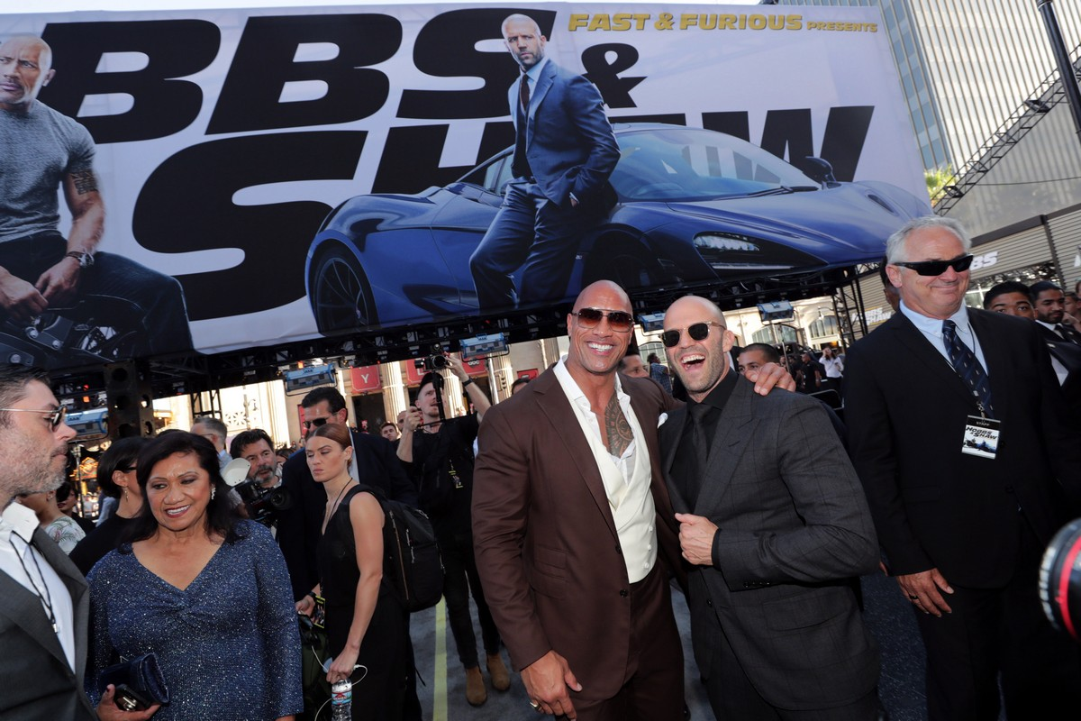 Fast and Furious Hobbs and Shaw