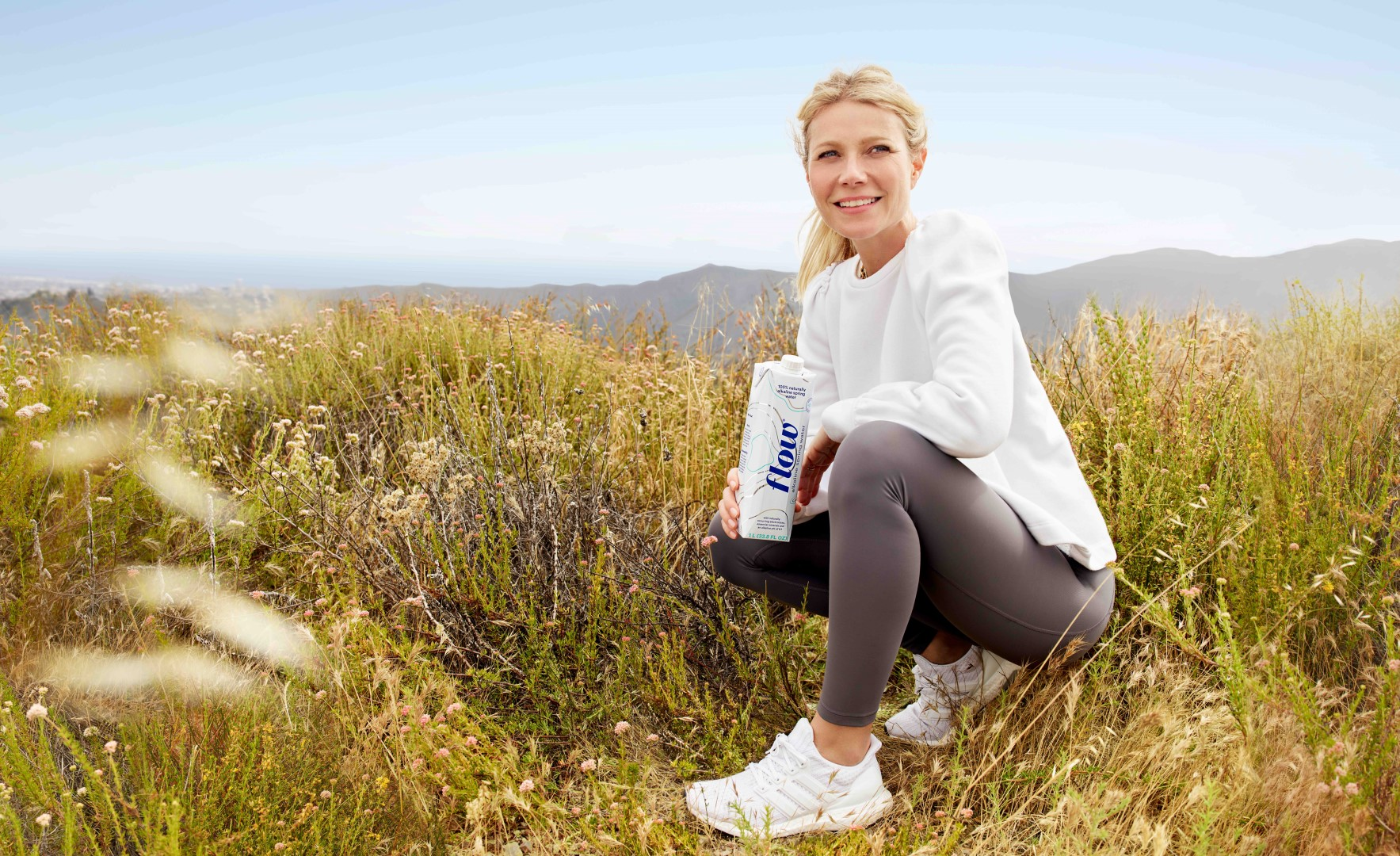 Gwyneth Paltrow Flow Alkaline Spring Water