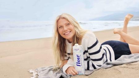 Gwyneth Paltrow Flow Alkaline Spring Water: la nuova campagna, video e foto