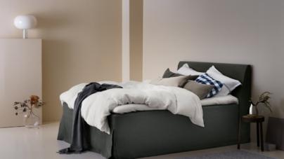 Hastens biancheria da letto: le nuove tonalità della collezione Satin Pure