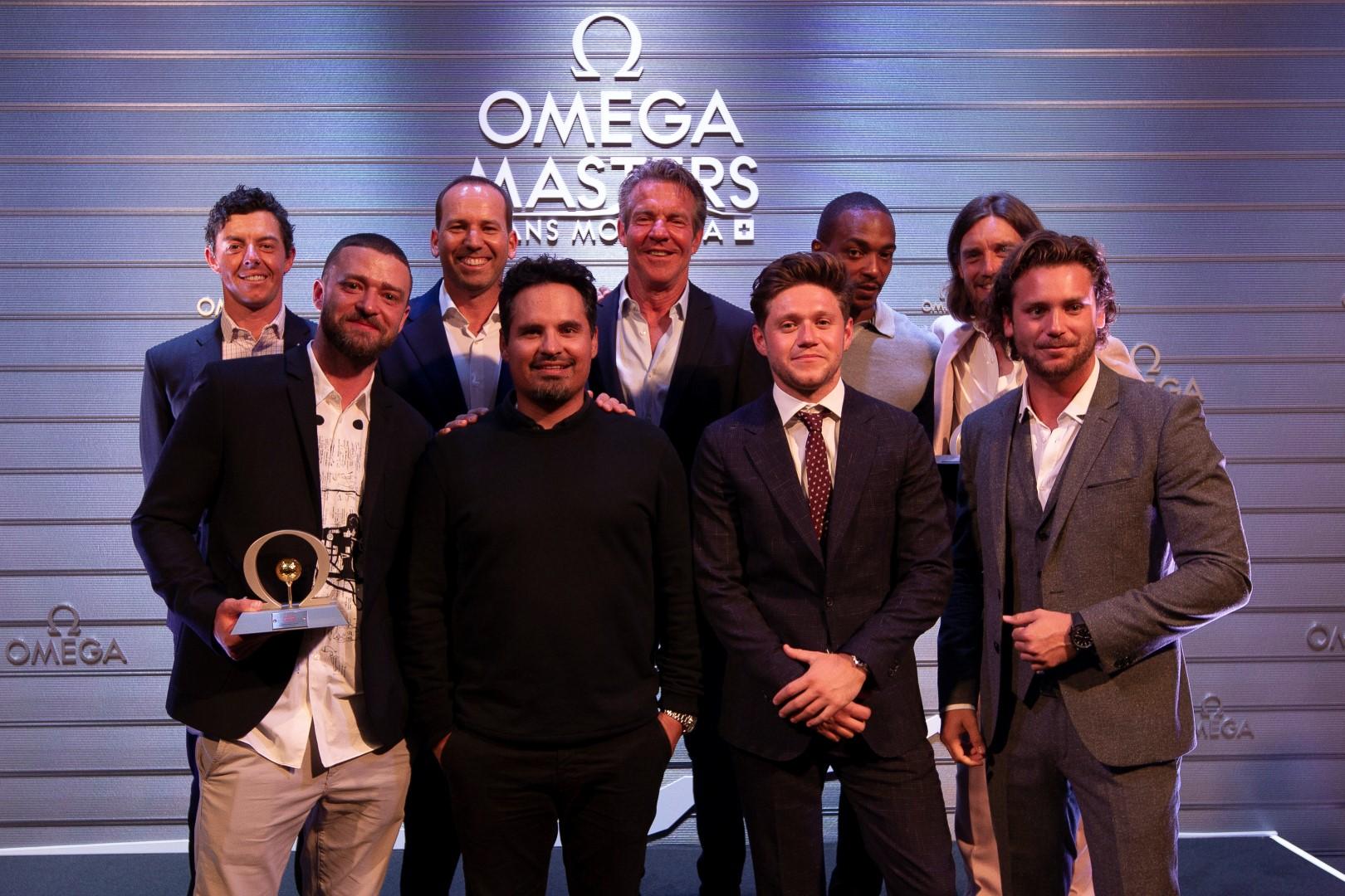 Omega Celebrity Masters 2019