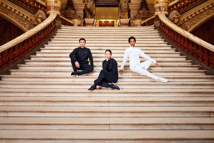 Opéra de Paris le Coq Sportif: la linea d'abbigliamento e le iconiche sneakers