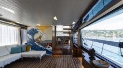 Sanlorenzo Yacht SX76: l'interior design pop firmato da Centrostiledesign