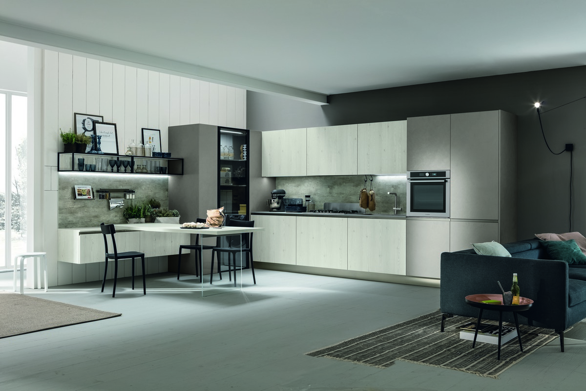 Stosa Cucine Infinity | Look System | nuove finiture | foto