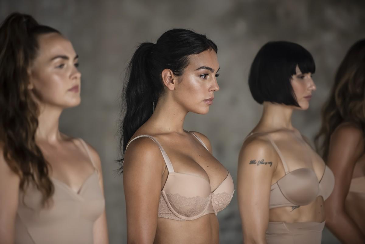 Yamamay Georgina Rodriguez autunno 2019