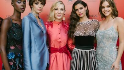 Armani Beauty Venezia 76: il dinner gala con Cate Blanchett, Barbara Palvin e Sara Sampaio