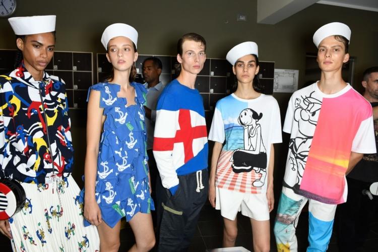 Benetton primavera estate 2020: Color Wave, la sfilata a Milano Moda Donna