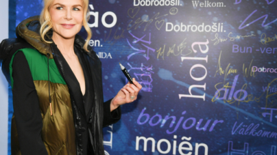 Bosideng autunno inverno 2019: la sfilata evento con Nicole Kidman e Kendall Jenner