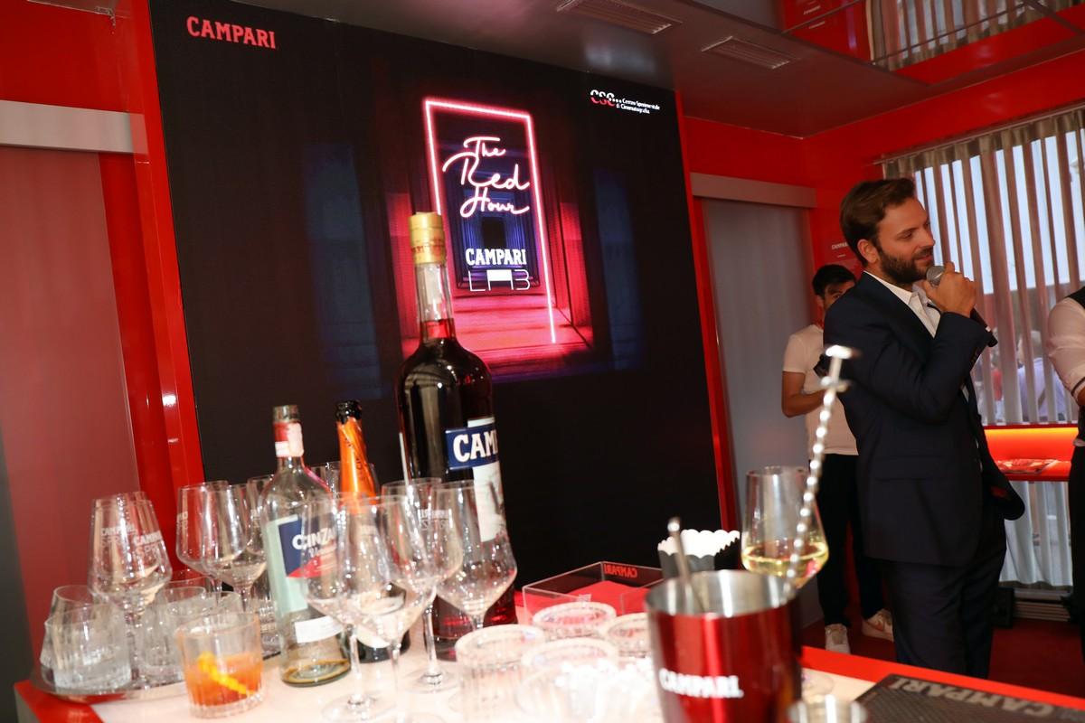 Campari Lounge 2019 Alessandro Borghi