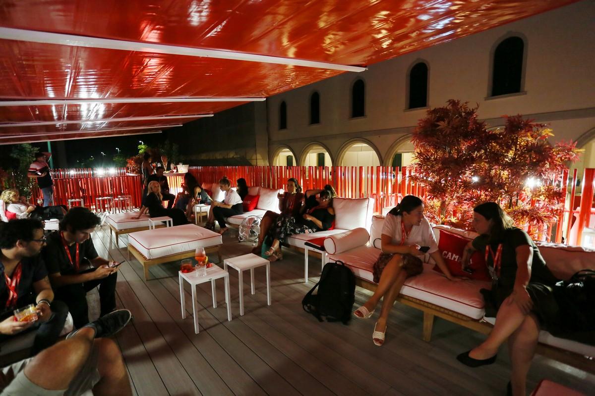 Campari Lounge 2019 Greta Scarano