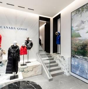 Canada Goose via della Spiga Milano: il nuovo store e la campagna Live in the Open