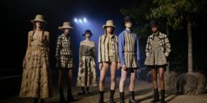 Dior donna primavera estate 2020: il respiro della natura, l'eleganza dei giardini