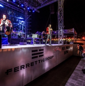 Ferretti Group Lionel Richie Private Preview: l'evento esclusivo al Yacht Club Monaco