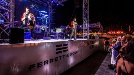 Ferretti Group Lionel Richie Private Preview: l'evento esclusivo al Yacht Club Monaco