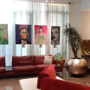 Icons mostra NH Collection Milano: i grandi miti del panorama musicale e artistico