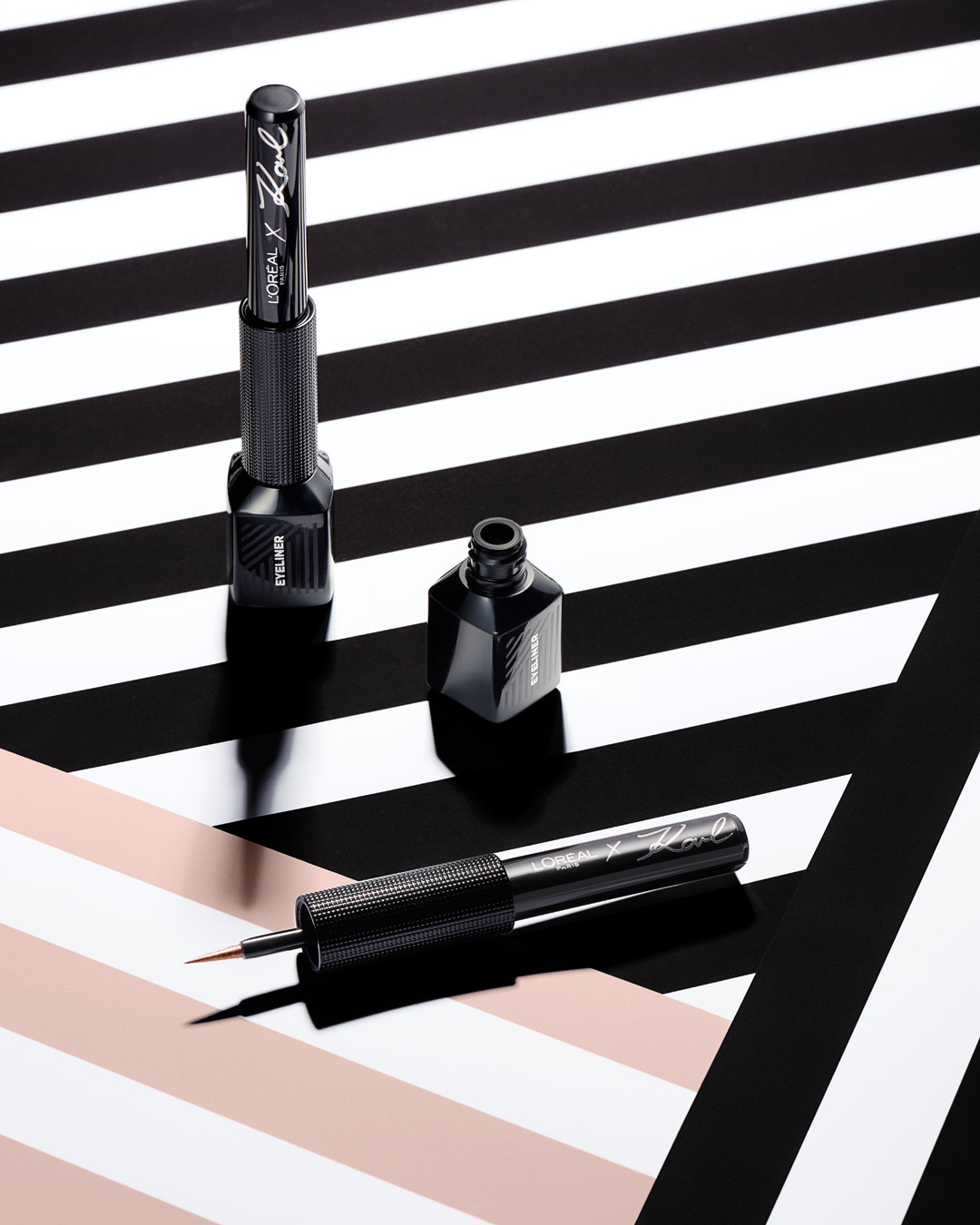 Karl Lagerfeld x L'Oreal Paris