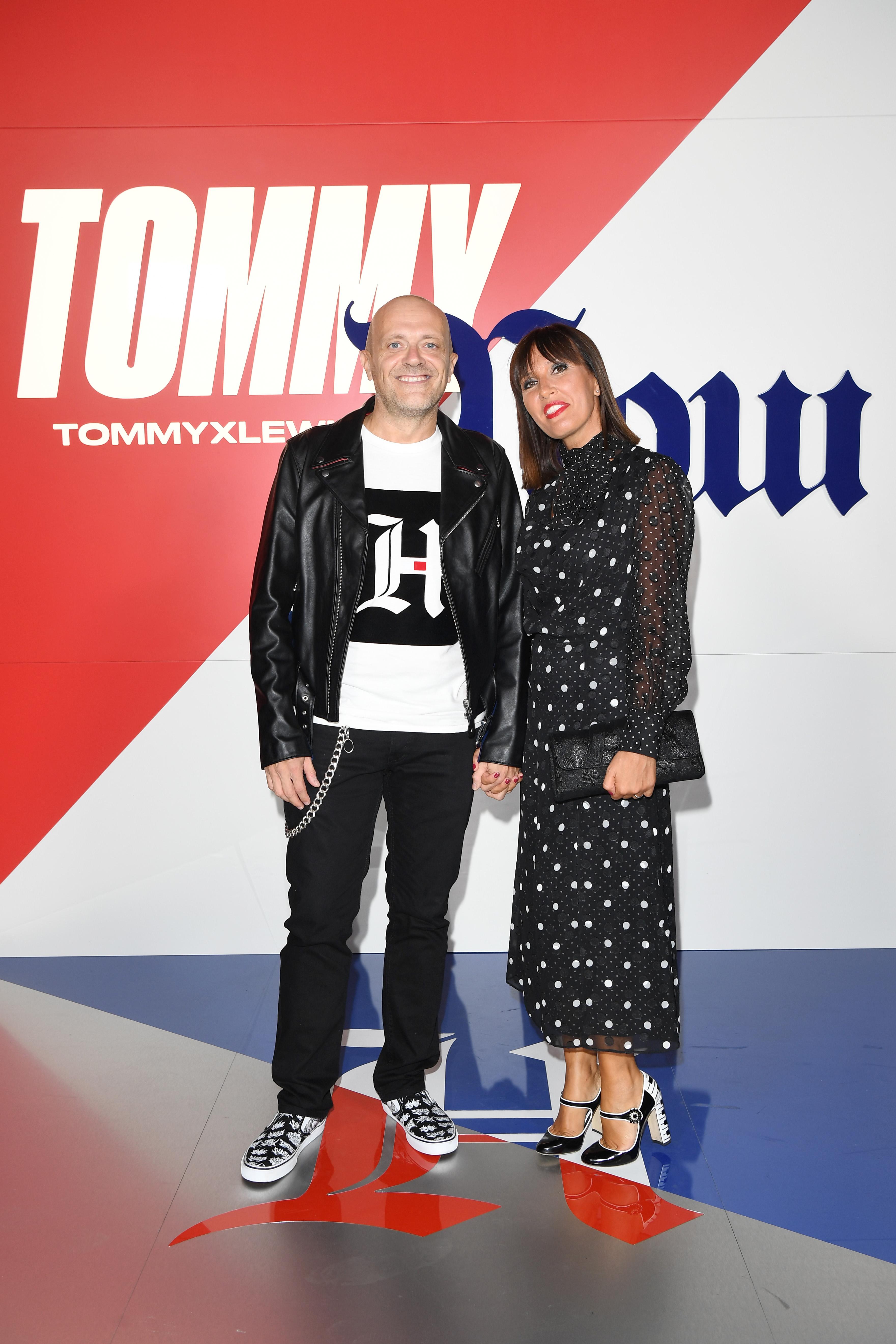 Lewis Hamilton Tommy Hilfiger party Milano