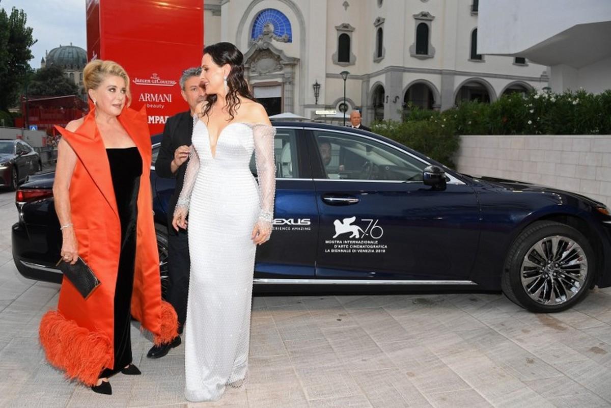 Lexus red carpet Venezia 2019