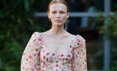 Luisa Beccaria primavera estate 2020: romantici abiti d'organza, la sfilata