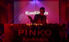Pinko borse Love Bag 2019: la campagna Love Kills Hate e il rock party a Milano
