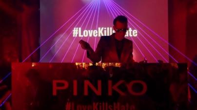Pinko borse Love Bag 2019: la campagna Love Kills Hate e il rock party a Milano