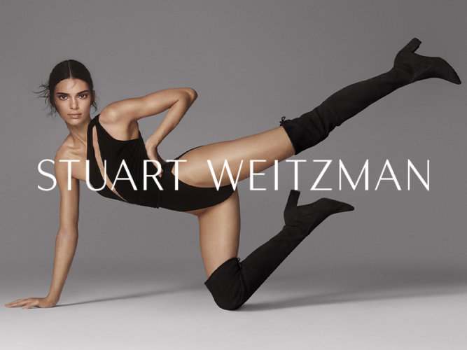 Stuart Weitzman Kendall Jenner: SW Boot Camp, la campagna autunno inverno 2019