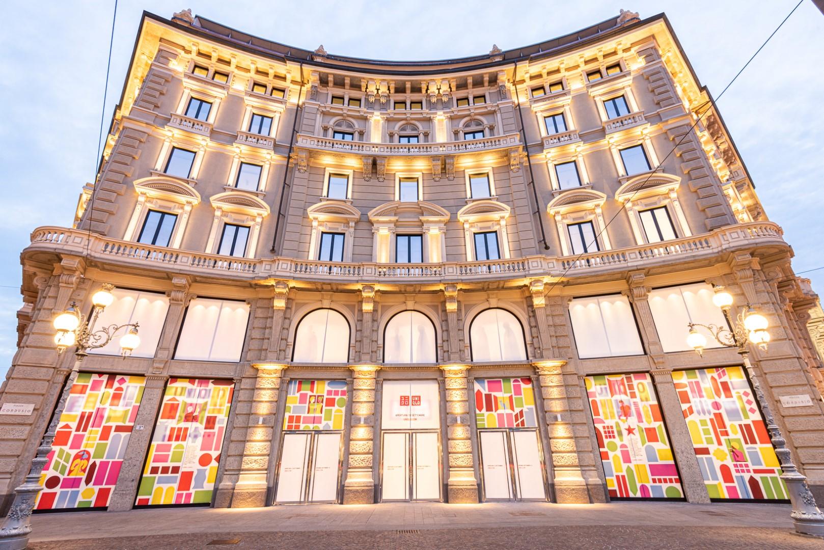 Uniqlo Piazza Cordusio Milano: l'inaugurazione dello store