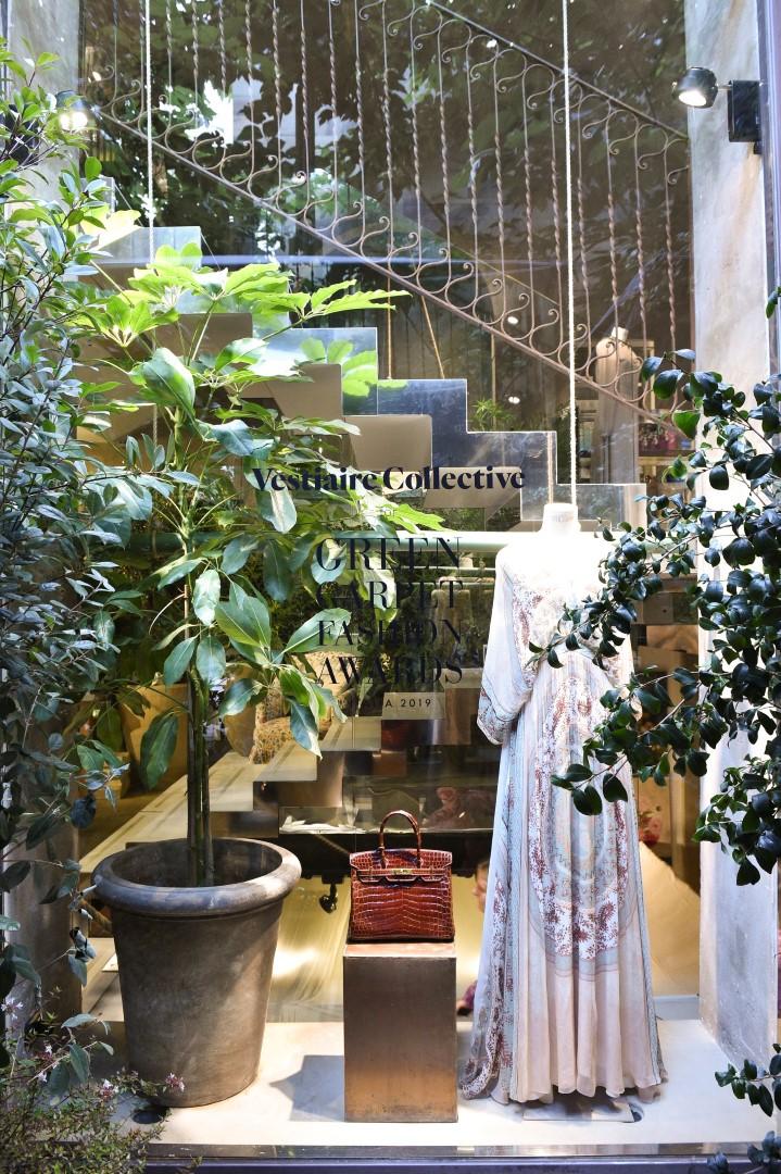 Vestiaire Collective pop-up store Milano