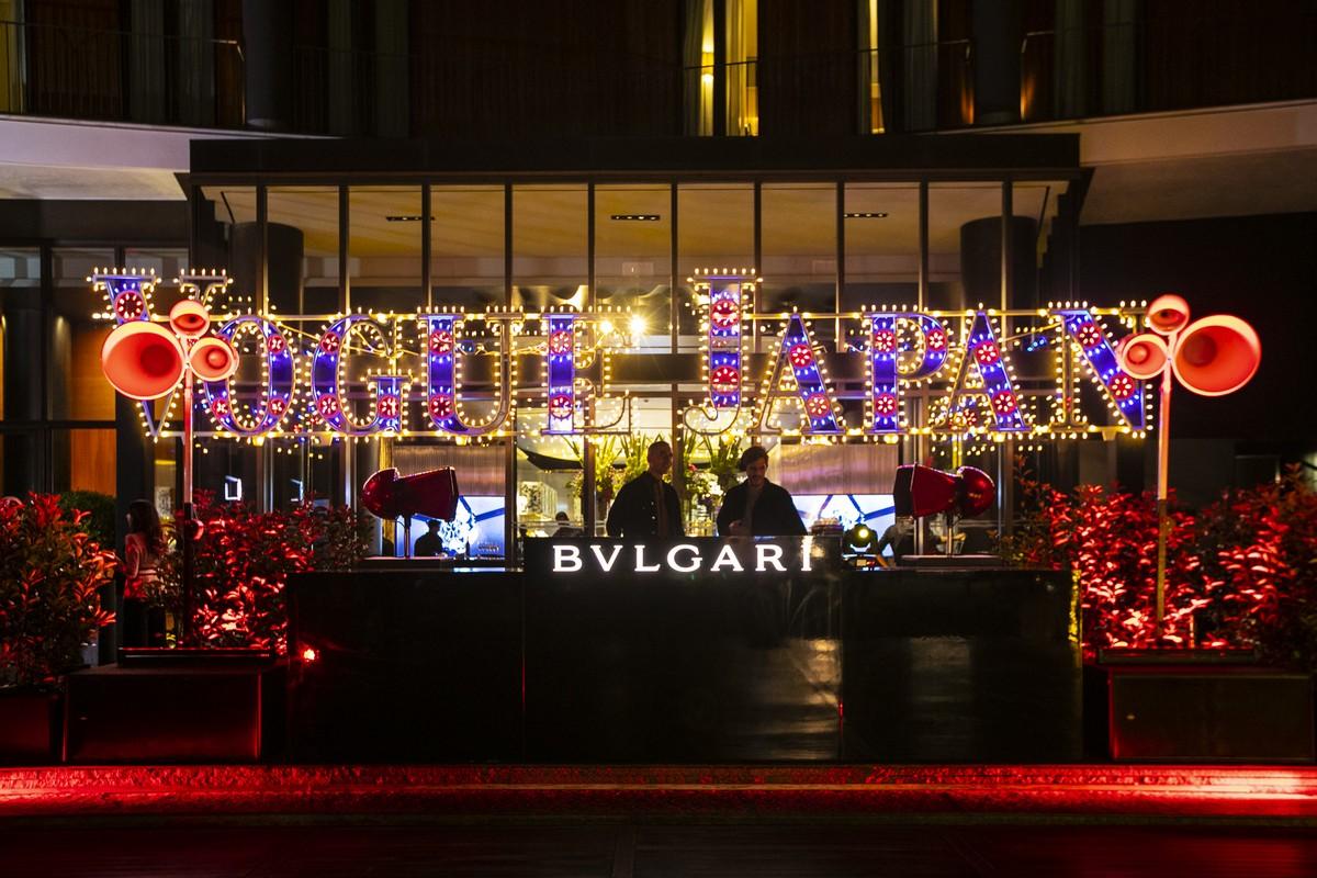 Vogue Japan party Milano