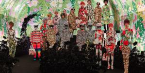 Moncler Richard Quinn: motivi brillanti ed estrosi per la collezione autunno inverno 2019