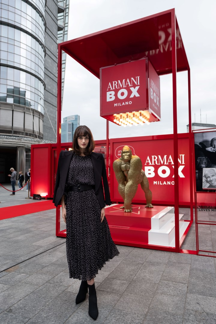 Armani Box Milano beauty pop-up store