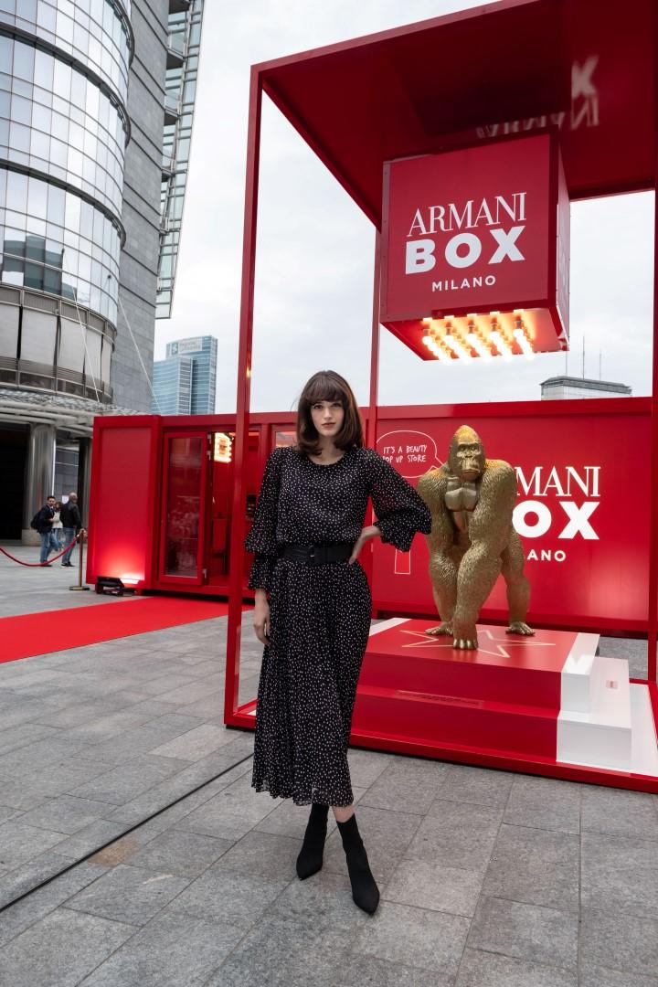 Armani Box Milano beauty pop-up store