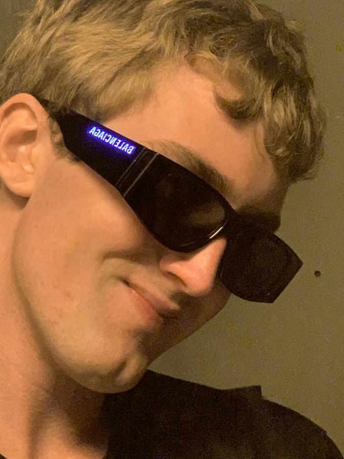 Balenciaga occhiali primavera estate 2020
