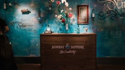 Bombay Sapphire Canvas Bar Roma: l'art show de I Carnovsky, il duo di creativi visionari
