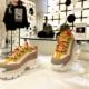 Cat Footwear Intruder sneaker: nuove audaci varianti cromatiche, il party a Milano