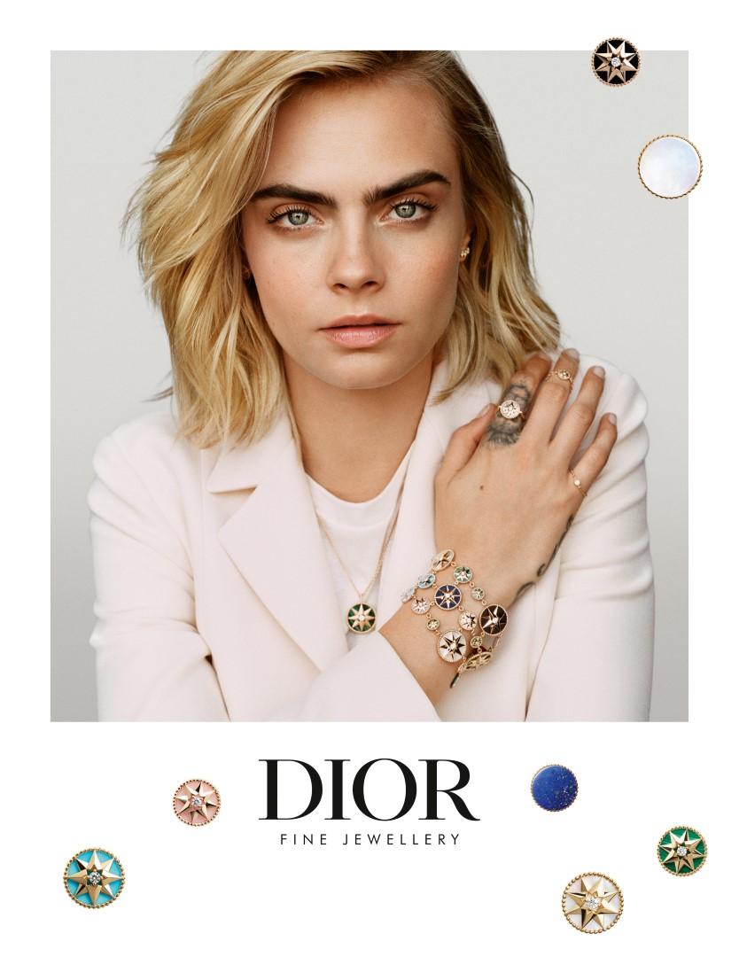 Dior Gioielli Cara Delevingne