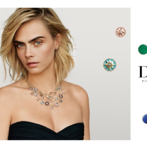 Dior Gioielli Cara Delevingne: nuovo volto della collezione Rose des vents