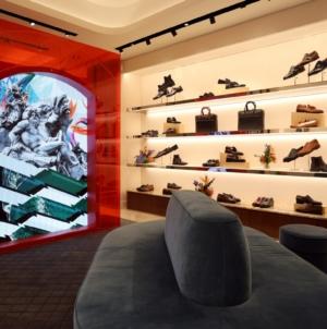 Ferragamo Roma via Condotti: il rinnovo della boutique uomo, il party