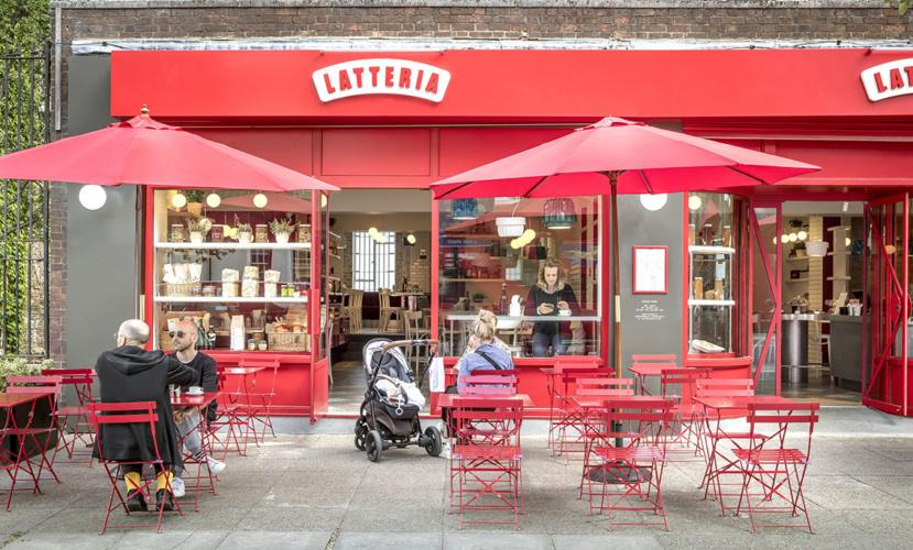 La Latteria Londra: il ristorante in stile milanese anni '50 firmato da Vudafieri-Saverino Partners