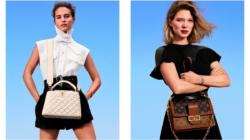 Louis Vuitton campagna borse New Classic: protagoniste Alicia Vikander e Léa Seydoux
