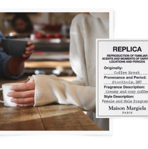 Maison Margiela Replica Coffee break: la nuova fragranza ispirata all'aroma di caffè
